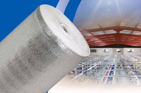 Espuma de polietileno con revestimiento de aluminio aiter - Aislante de calor para techos ...