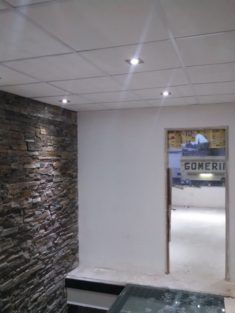 Obra oficinas comerciales llavallol aiter for Oficinas comerciales